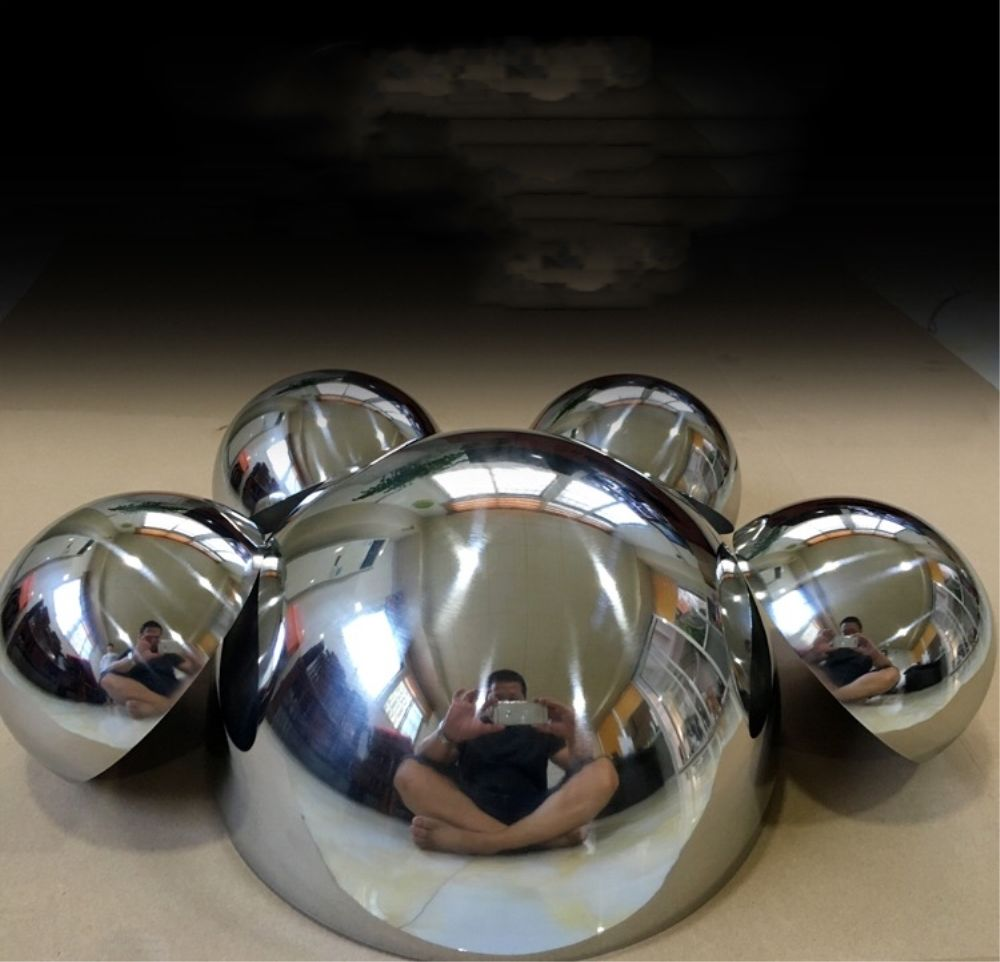 Mirror polished Hollow half balls stainless steel 304 1-1000mm