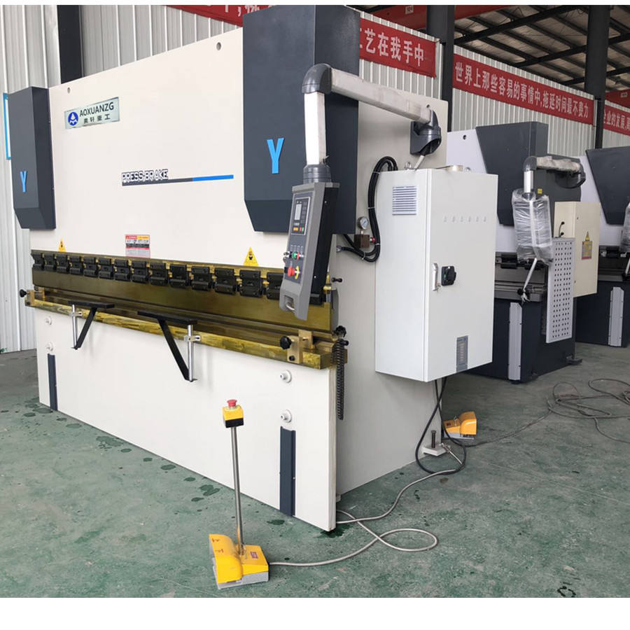wc67y hydraulic press brake metal sheet automatic electric bending machine for making