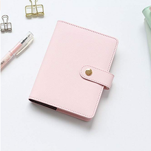 Cute Fashion PU Leather Cover Notebook Portable Journal Diary Book