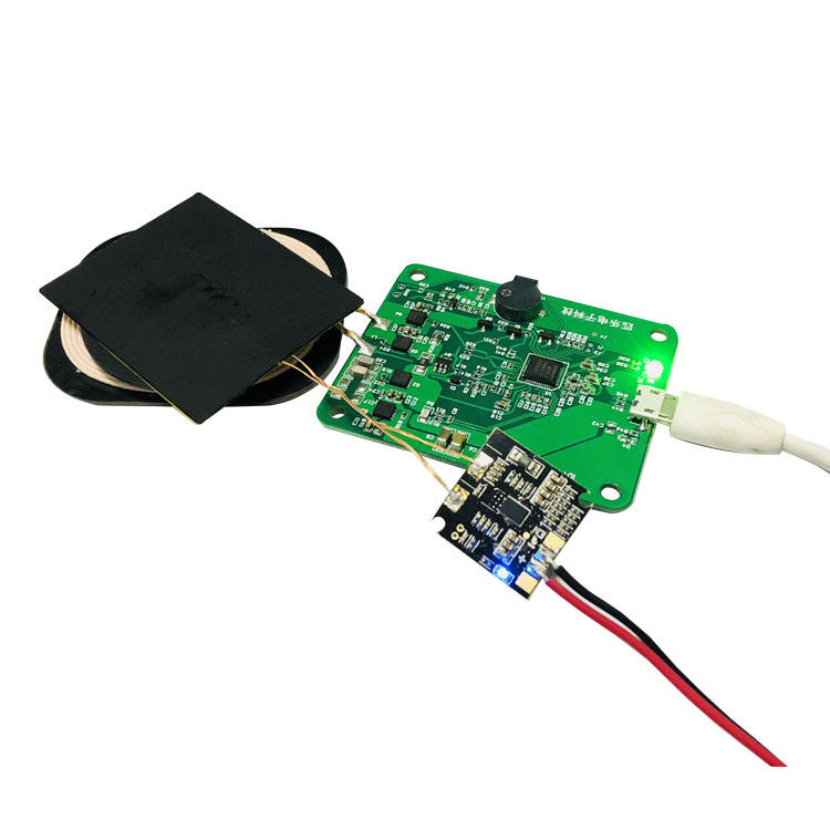 Qi certification 15W wireless charger module transmitter PCBA for iPhone and Samsung