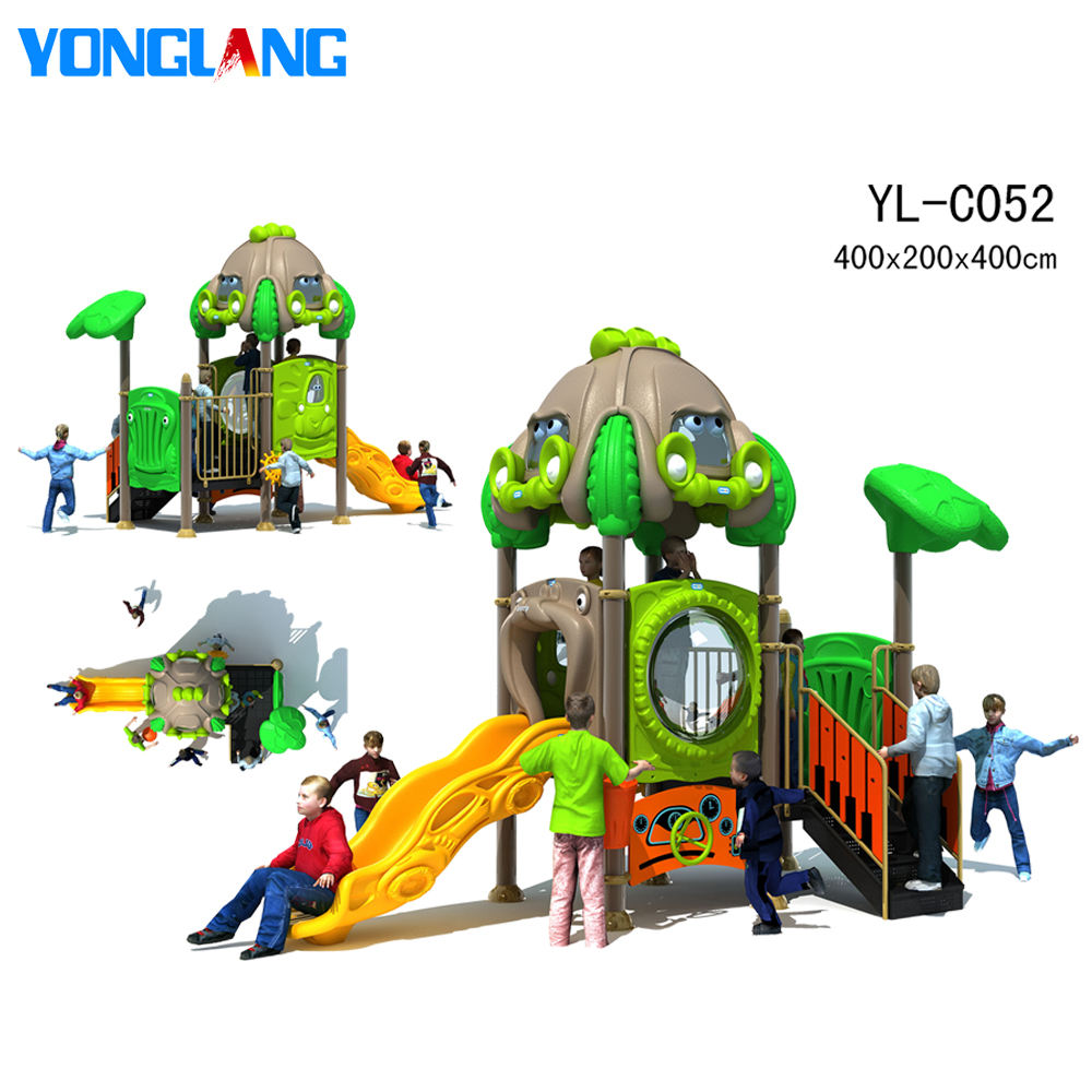 Outdoor Used Playground Equipment YL-C052 Plastic Playground Outdoor Children Playground Equipment Sets Cheap Outdoor Playsets For Kids