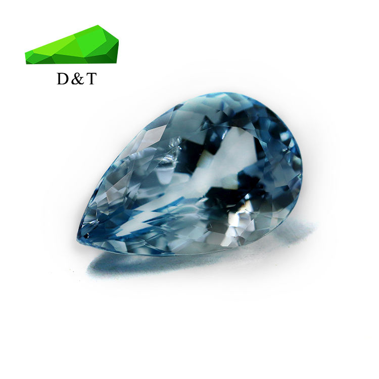 good quality natural aquamarine loose gemstone