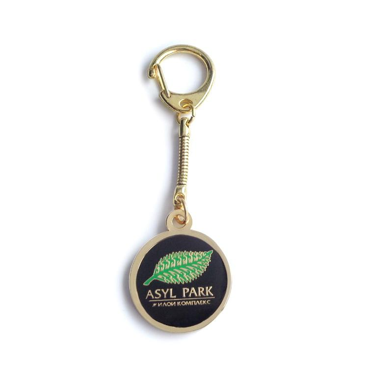 Supermarkt Token Trolley Münze Metall Keychain