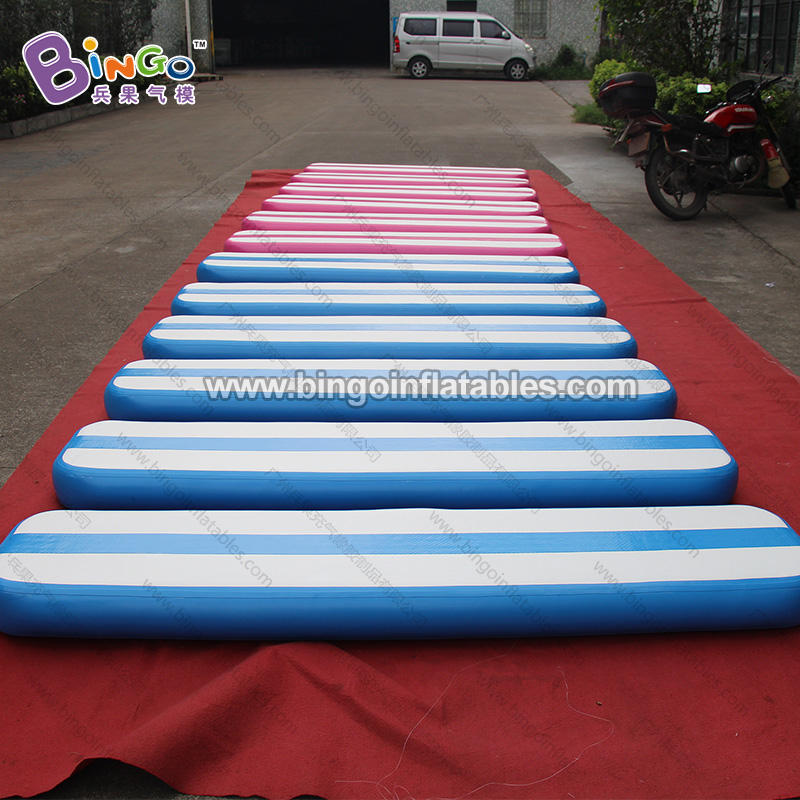 Portable air track / inflatable gymnastics mat / gymnastics tumbling air track