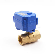 Offer CWX Series 15Q DN20 CR01 12V Electric Actuator 2 Way Brass Ball Motorized for Toilet Automatic Water Tank Fill Flush Valve