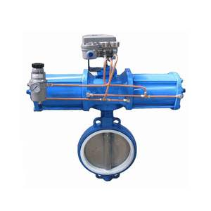 China Supplier Reliable Performance Pneumatic Butterfly Valve