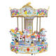 China direct manufacturers amusement park electric 6seats Carousel swing mini carousel for sale