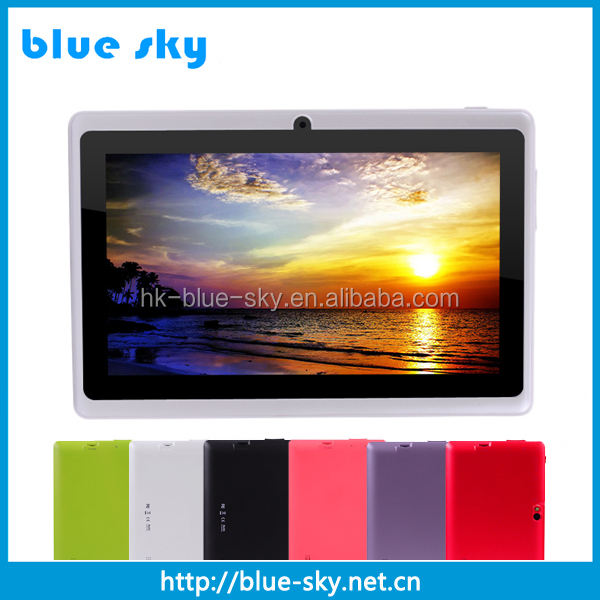 Best selling items wall mounted tablet android 7inch q88