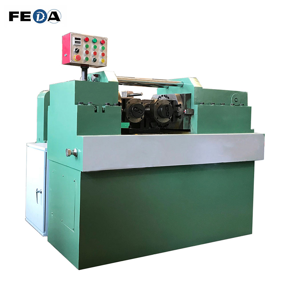 FEDA threading machine used ridgid threading machine automatic rolling machine