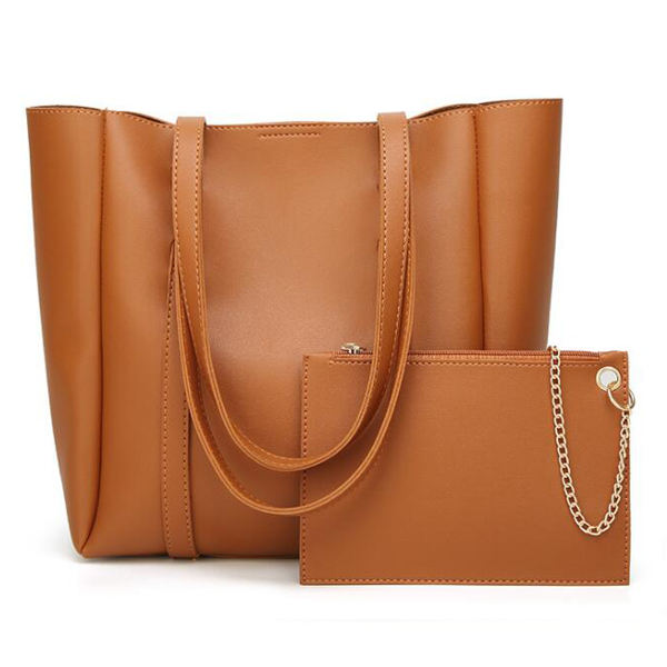 EM127 china wholesale direct buy Classical women PU leather handbags
