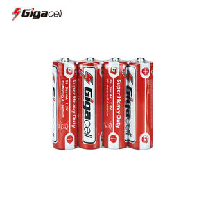 Hot sales   Good quality  R6 battery Carbon Zinc AA battery