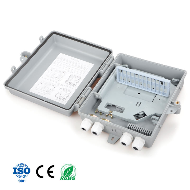 Cheap Price 16F core Outdoor FTTH Fiber Optic Splitter Distribution Box for Indian market
