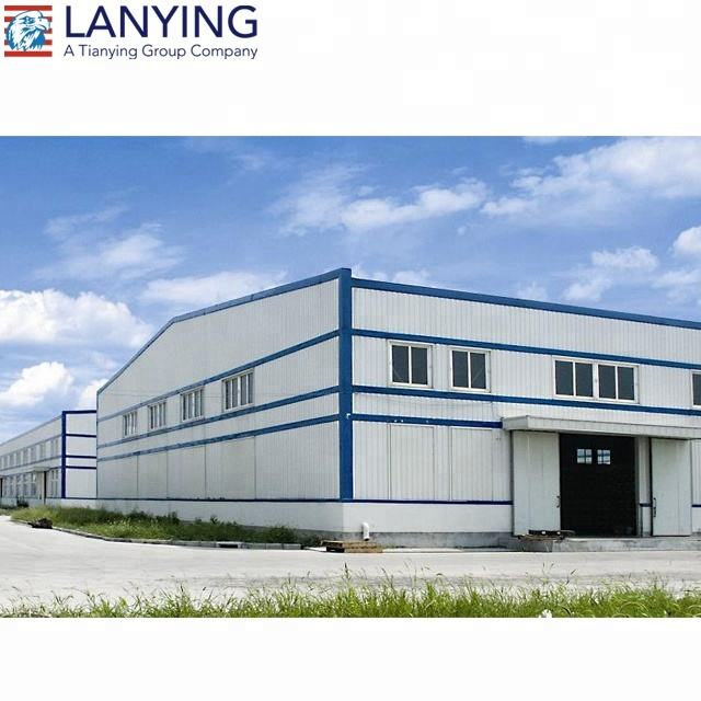 Low cost cheap price economical prefabricated steel structure warehouse