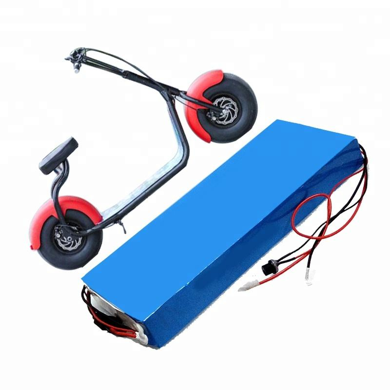 High quality 60v 12ah lithium electric scooter battery pack
