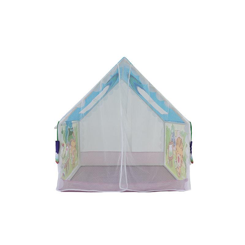 Enfants Jouent Tente Série Avec Enfants Tunnel Tente Lion Compte de La Chambre