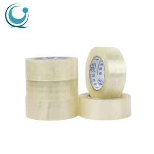 Single sided super clear adhesive bopp material carton sealing packaging shipping tape