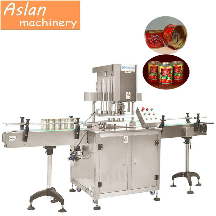 automatic can sealing filling machine/Automatic Plastic Paper Can Seaming Machine/Metal Bottle Tin Can Seaming Machine