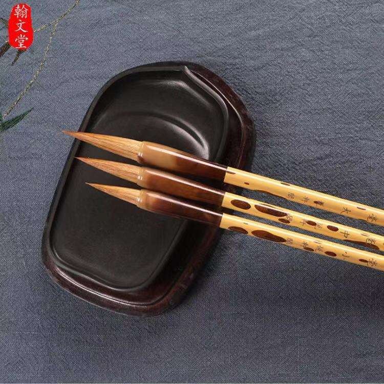High quality unique decorative chinese calligraphy brush pen with bamboo handle
