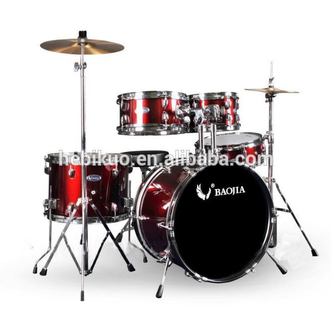 BJ11651 5 stks Kids Drum Set, kinderen drumstel muziekinstrument