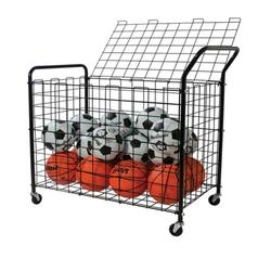Metal Rolling Ball Storage Cart Locker
