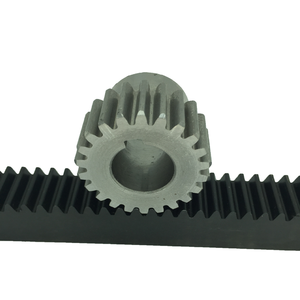 Spur cnc mold flexible gear rack and pinion