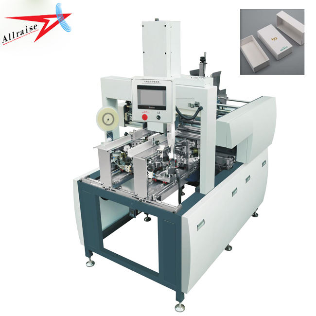 Allraise Automatic Square Paper Box Corner Pasting Machine