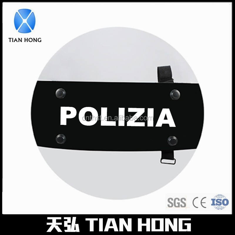 Big Clear Polycarbonate Round Police Shield Diameter:60cm