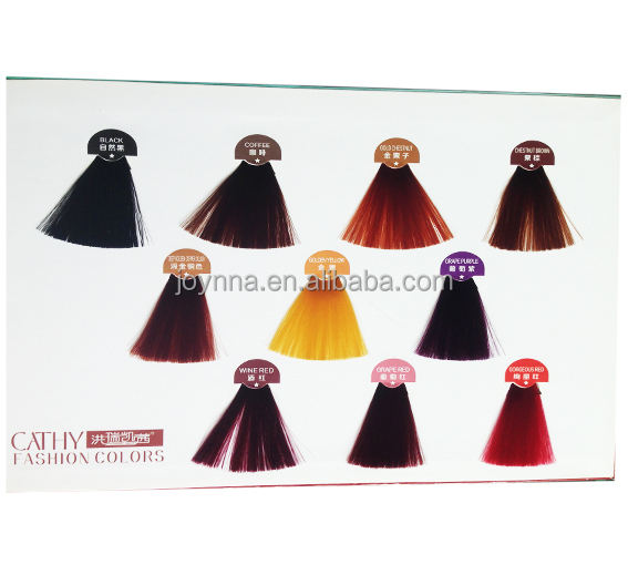 OEM lowest factory price hair color book