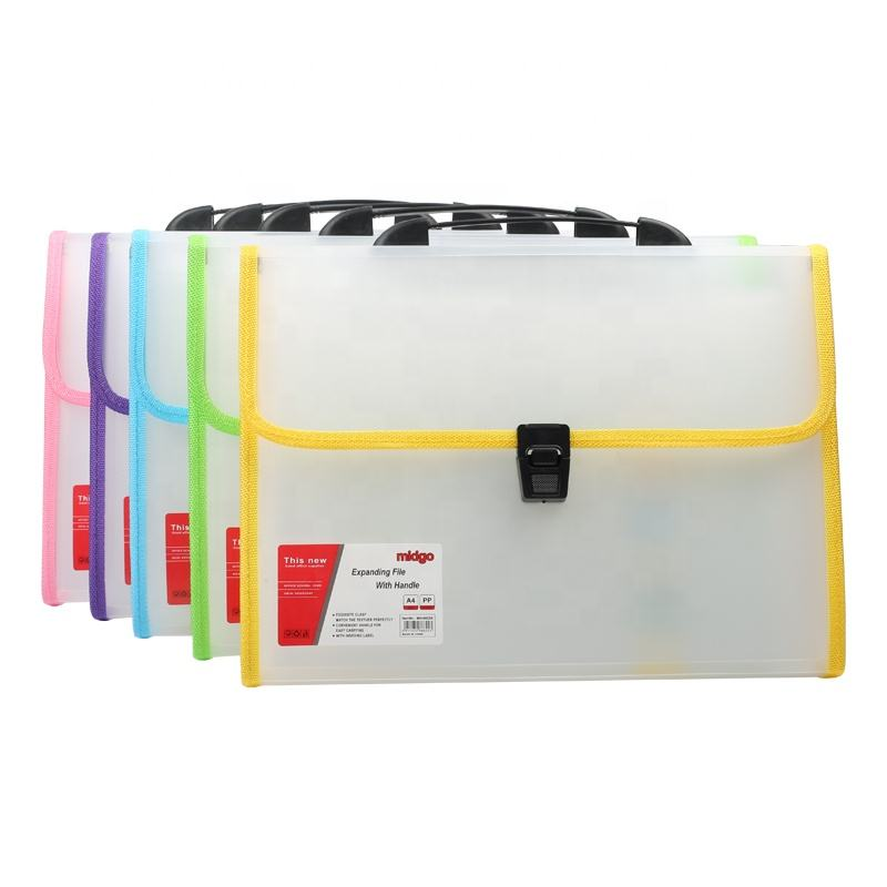 13 Pockets Expanding File Documents Organized Accordion Folder