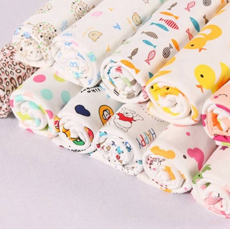 Cheap price custom baby interlock egyptian cotton printed sheet fabric