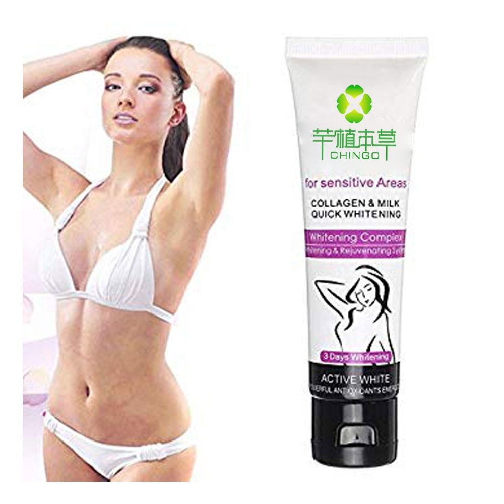 OEM/ODM Best Whitening Underarm Body Vagina Skin Pink Whitening Cream with Private Label