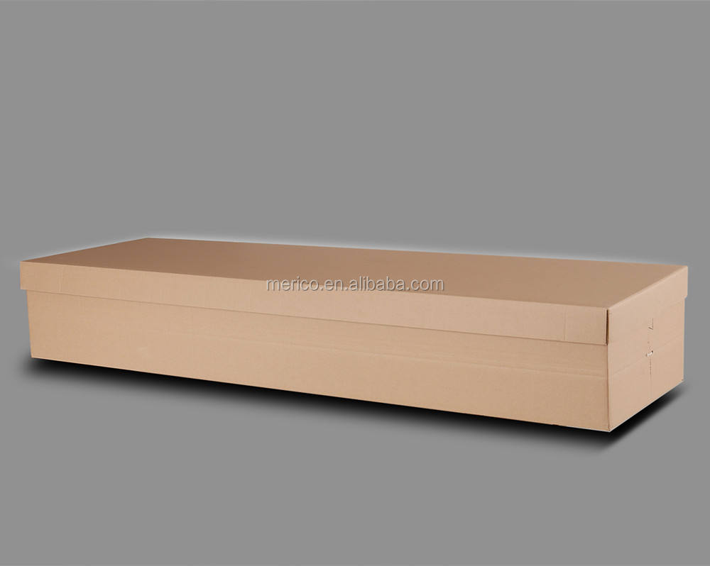 Container Box 1# cheap cardboard coffin simple paper casket for cremation