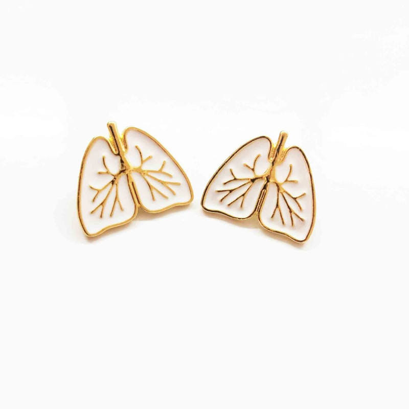 Creative Design Doctor and Nurse Jewelry Accessories Medical Anatomical Heart Enamel Pins Brooches