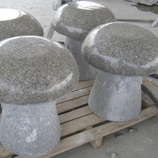 hot sale natural stone garden mushroom table