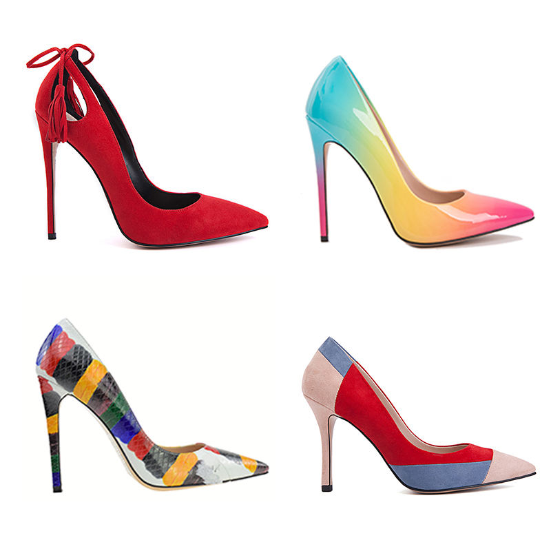 China factory professional custom pumps high quality ladies high heels shoes women dress shoes