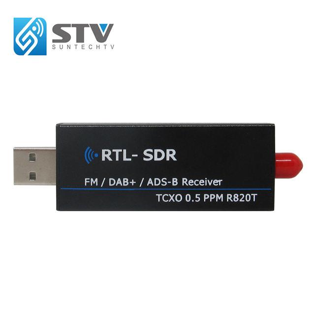 1set RTL2832U R820T2 USB Stick DVB-T+FM+DAB SDR/&ADS-B E4000