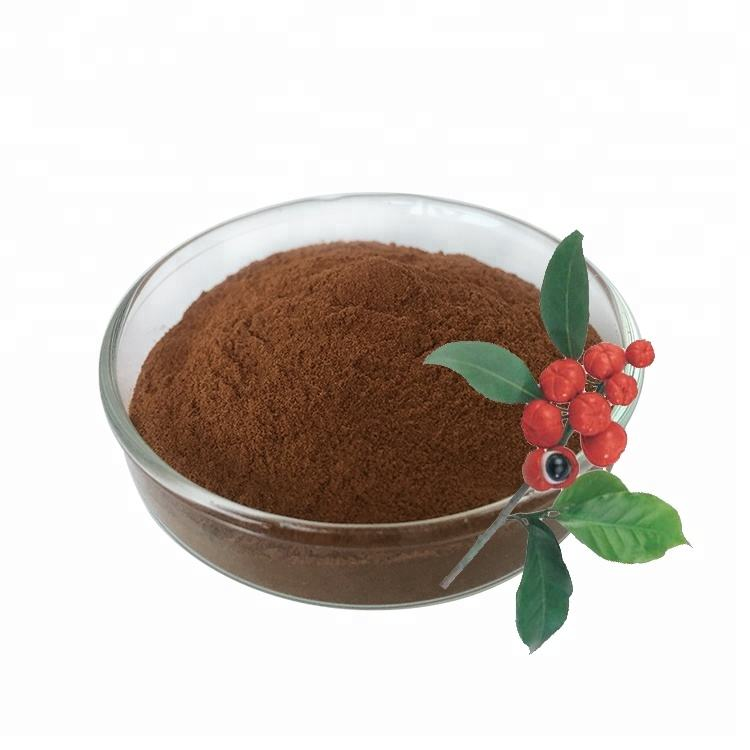 100% natural organic guarana seed extract powder with free sample