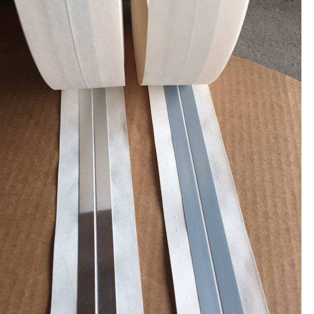 Flexible metal corner guard tape