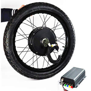 110km/h high speed electric bike conversion kit 5000w hub motor.