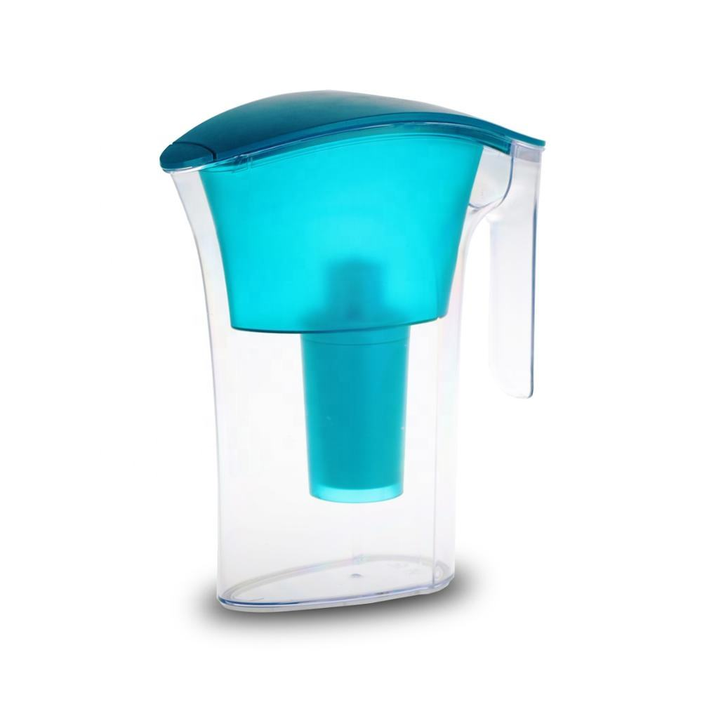 2.5L BPA Free Activated Carbon Drinking Water Purifier Filter Impurities Removes Chlorine Metals Sediments Water Filter Pitcher