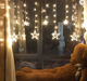 Hot Sale Wedding Led Color Changing Curtain Light Five Pointed Mini Star Led Curtain Fairy Lights Twinkling star curtain light