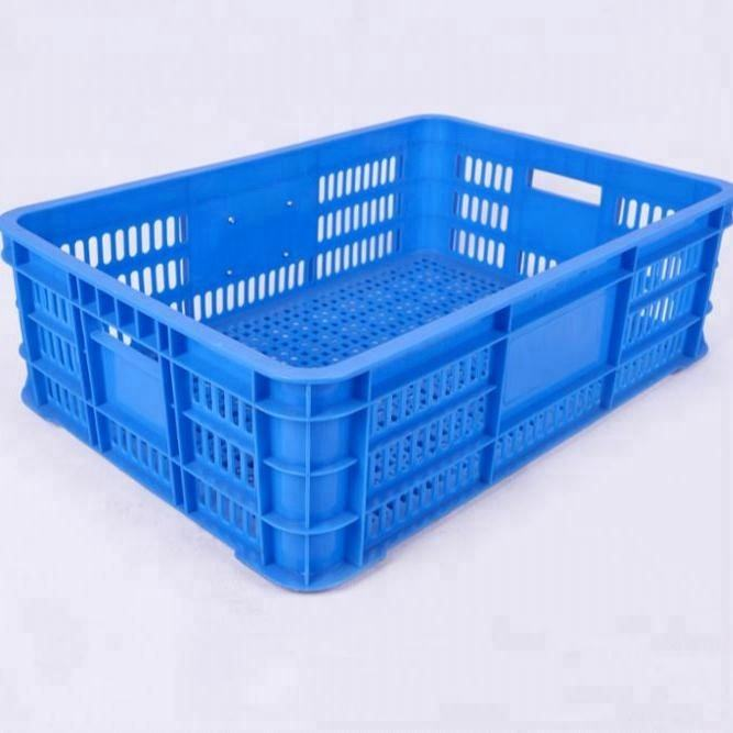 600*400*120mm plastic fruit crate and vegetable crates for sale