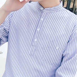 다 가 및 봄 trend 패션 stripe simple 쿨 긴 sleeve man shirt