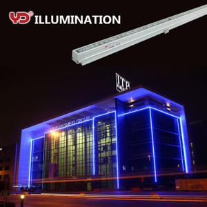 Aluminium gehäuse fabrik direkt IP68 super slim led licht bar