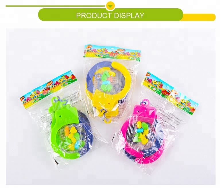 Playing [ Game Toy ] Kid Live At Home Role Play Game Toy Handcuffs With Candy