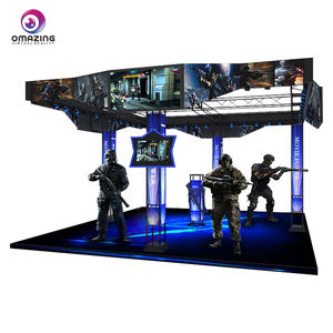 Yang 9D VR Gun Shooting Game Simulator VR Video Game untuk Game Center