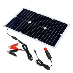 Solar Battery charger 18V 12V 18W Solar Car Boat Power Panel