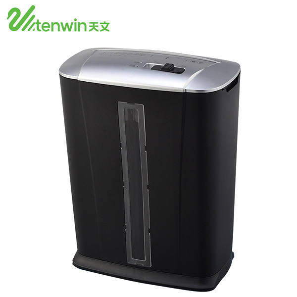 Tenwin 9003 Black 13L S3 strength industrial mini paper shredder for office family