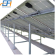 Aluminum Ground Mount Solar Racking Systems Customized Solar Panel Grounding Mounting Bracket for pv solar panels