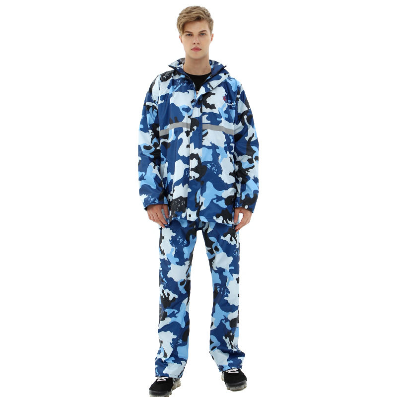 Rainfreem 2019 Camouflage 100% Polyester PVC <span class=keywords><strong>Imperméable</strong></span> <span class=keywords><strong>Imperméable</strong></span> <span class=keywords><strong>À</strong></span> <span class=keywords><strong>L</strong></span>'<span class=keywords><strong>eau</strong></span> de Pluie